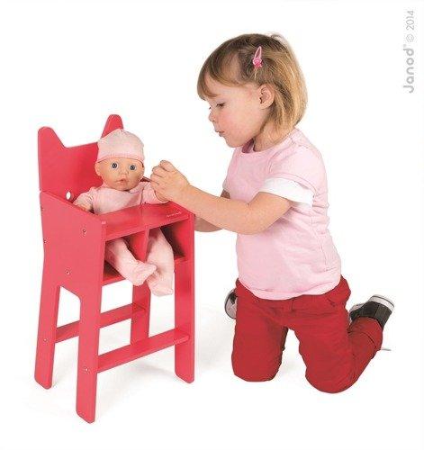 Krzesełko dla lalek Babycat, Janod